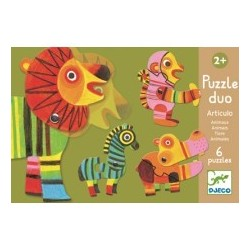Puzzle duo mobil animale